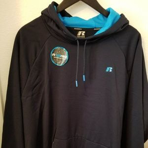 New men's Russell hoodie sweatshirt